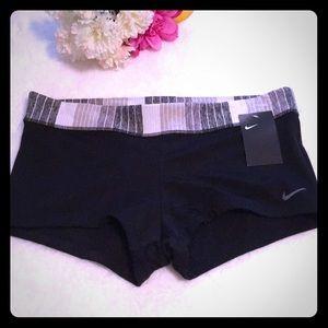 Nike Swim Shorts Black & Gray